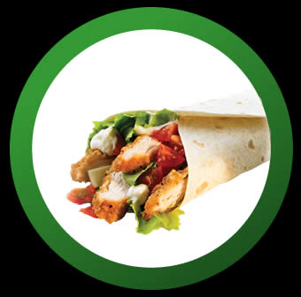 Chicken Wrap Meal